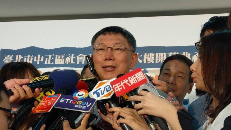 臺北市長柯文哲。聯合報系記者楊正海/攝影