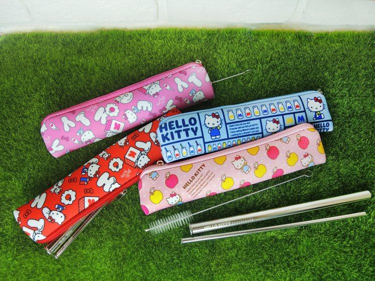 Hello Kitty 316不鏽鋼吸管組,9月11日起在全台限定3,000間7...