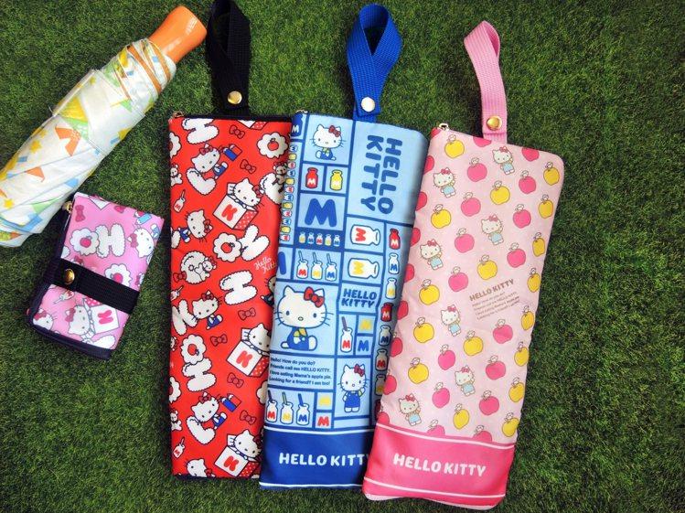 Hello Kitty多功能吸水收納袋,9月11日起在全台限定3,000間7-E...