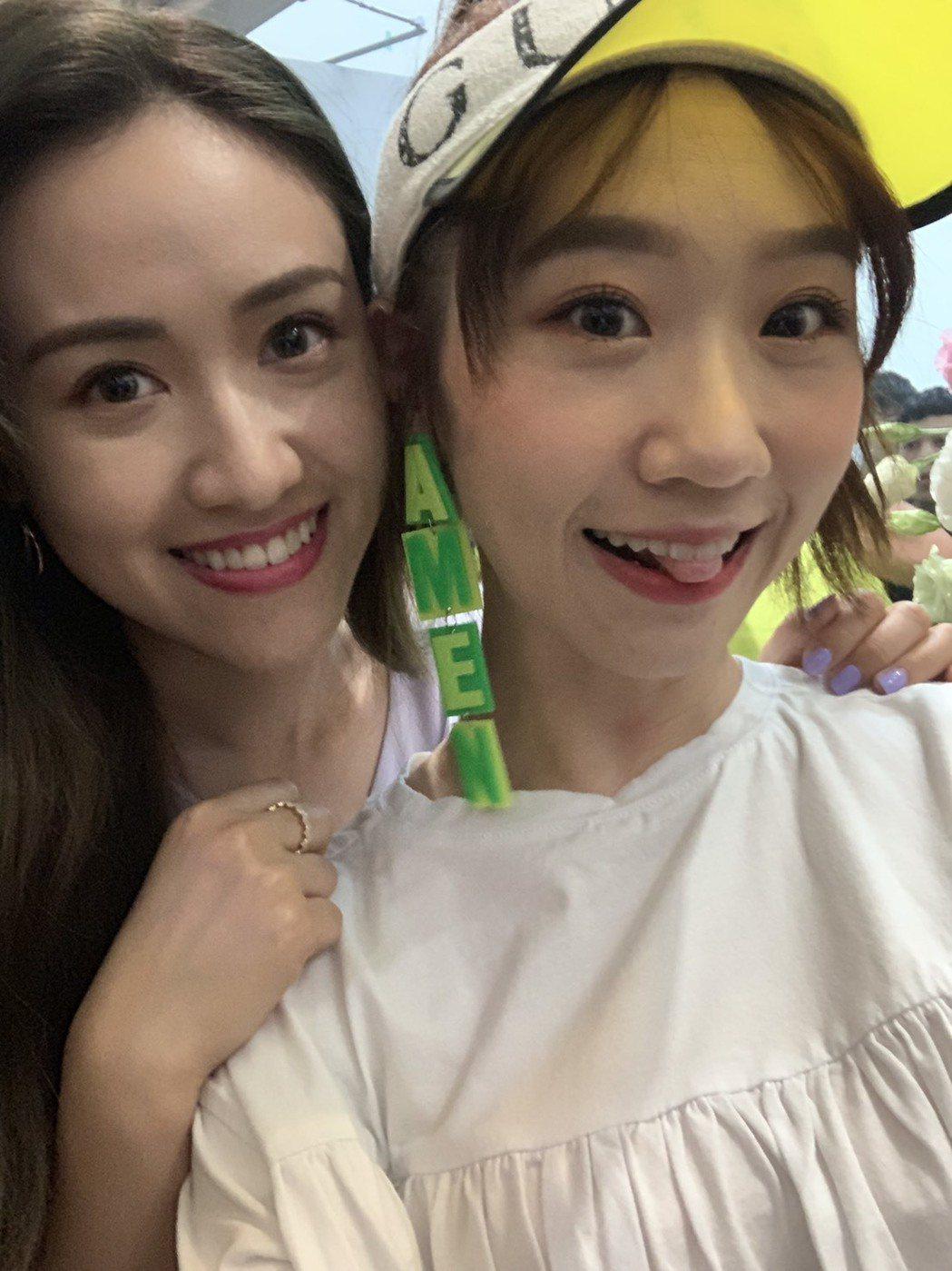 吳姍儒(左)和Lulu同齡,私下也是好友。圖/Lulu提供