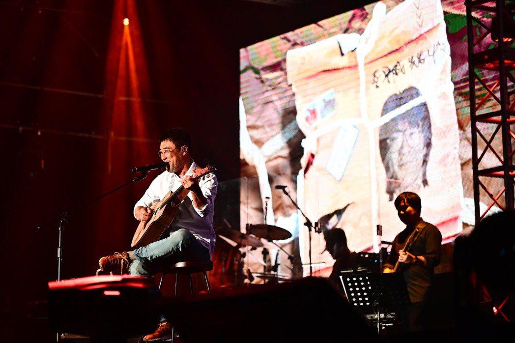李宗盛「有歌之年」巡演明年一月將首度唱進高雄巨蛋。圖/相信音樂提供