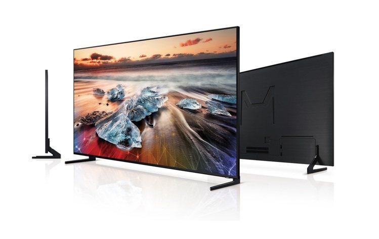 三星98吋QLED 8K量子電視擁有業界獨創360度絕美工藝,透過零間隙壁掛及美...