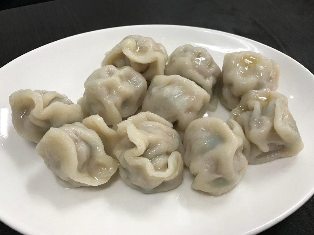 水餃。記者吳淑君/攝影