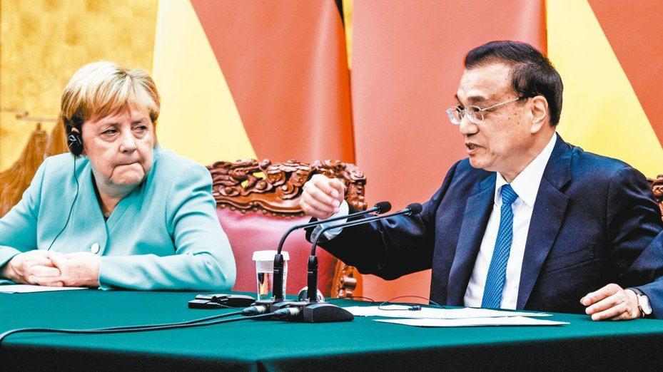 李克強:有智慧、能力處理香港問題 歐新社