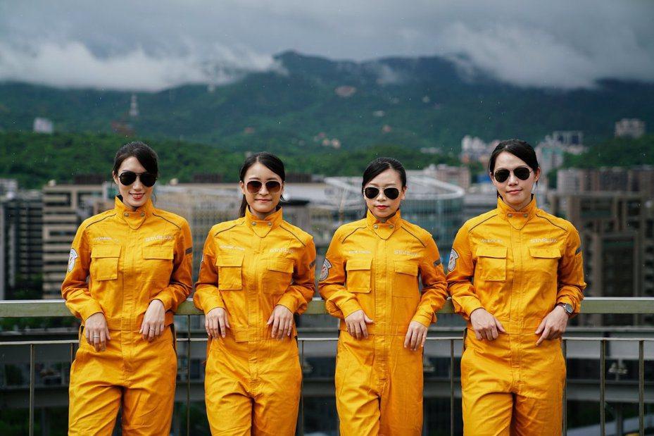 第二批共14位培訓飛航學員,預計將於今年10月跟隨學長姐腳步,前往美國接受為期1年的飛行訓練,其中4大金釵成亮點。 圖/星宇航空 STARLUX Airlines