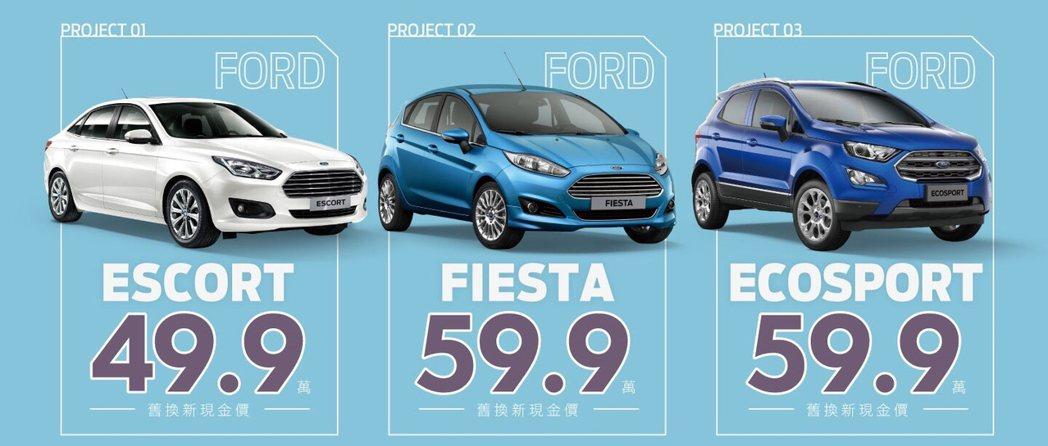 Ford 9月提供「小資99輕鬆入主方案」,入主Ford Fiesta或Ford...