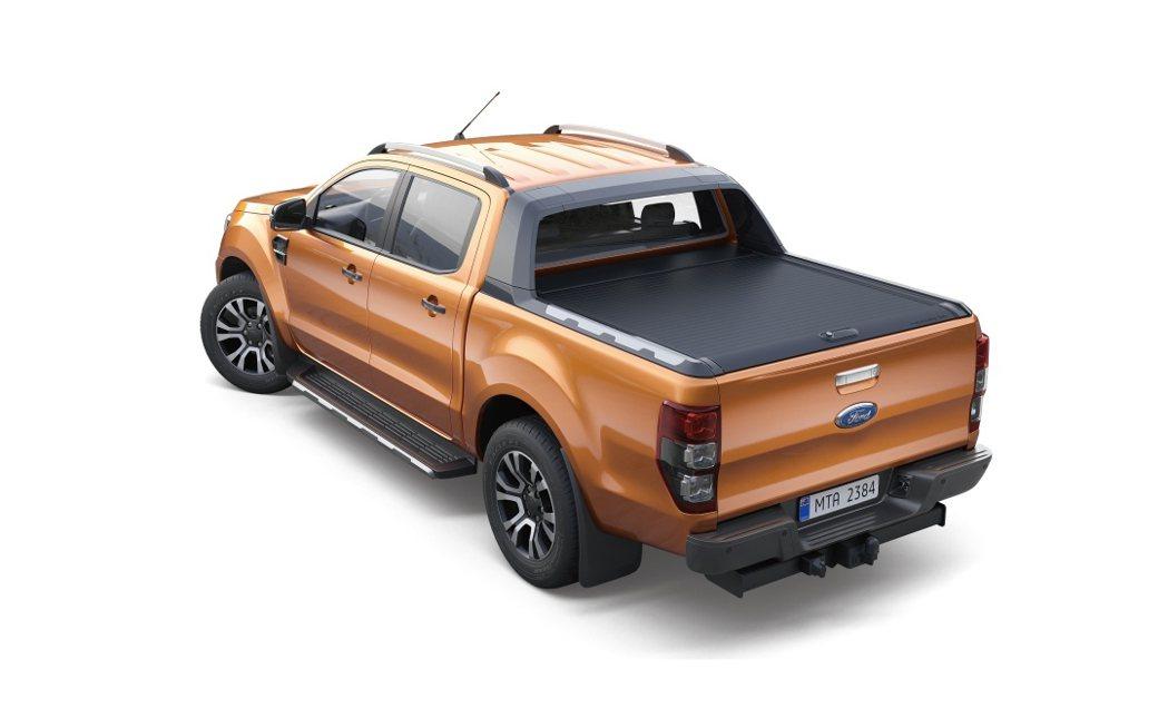 9月入主 Ford Ranger Wildtrak加價購洗鍊黑原廠美式車斗捲簾僅...