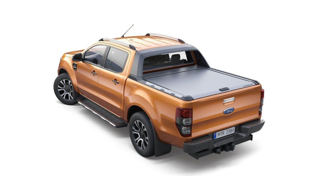 9月入主Ford Ranger Wildtrak加價購悍銀鋁原廠美式車斗捲簾僅需...