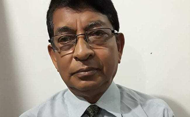 73歲印度醫生杜塔(Deben Dutta)。圖取自NDTV