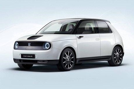 量產2020 Honda e 0-100km/h加速8秒達成!