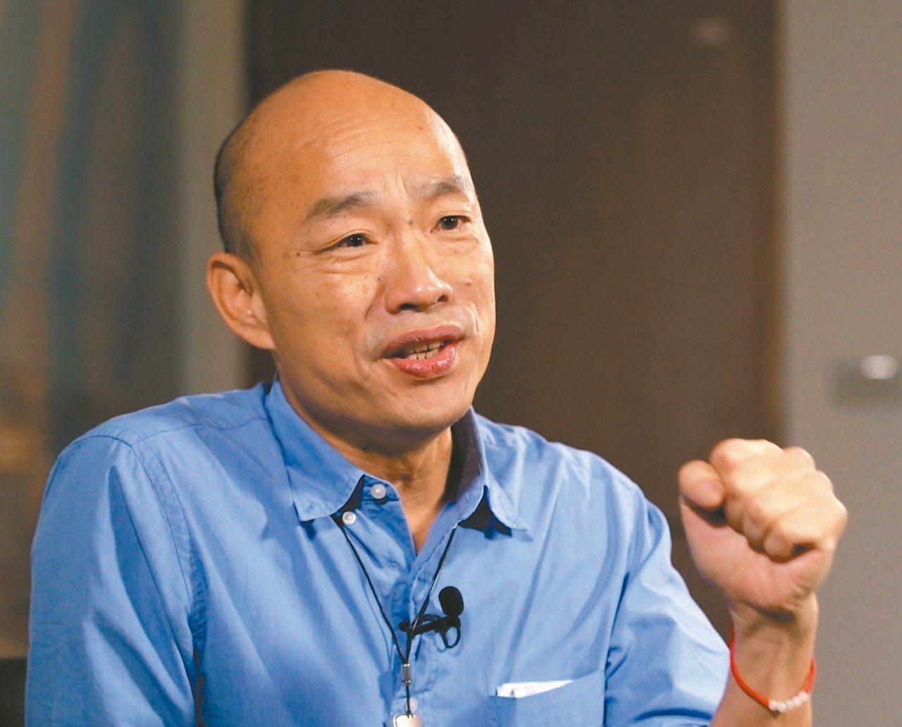 國民黨總統參選人韓國瑜。 圖/聯合報系資料照片