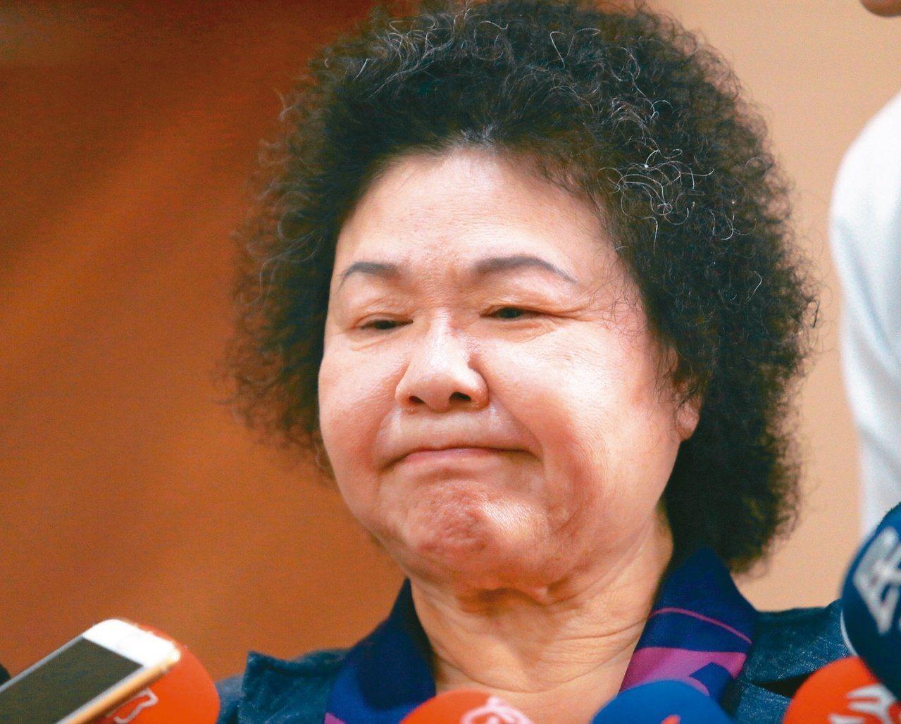 總統府秘書長陳菊。 本報資料照片