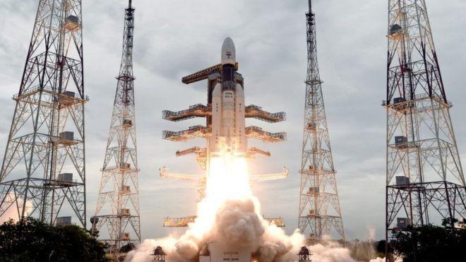 印度「月球飛船二號」(Chandrayaan-II)7月22日升空,預計今天登陸...