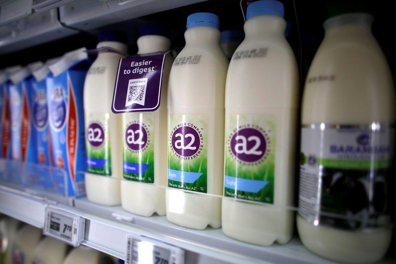 英國Milk & More調漲乳價,不過該調漲只針對非線上顧客。圖為牛奶示意圖。...