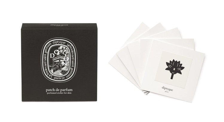 diptyque香氛貼飾-杜桑,售價1,850元。圖/10/10 APOTHEC...