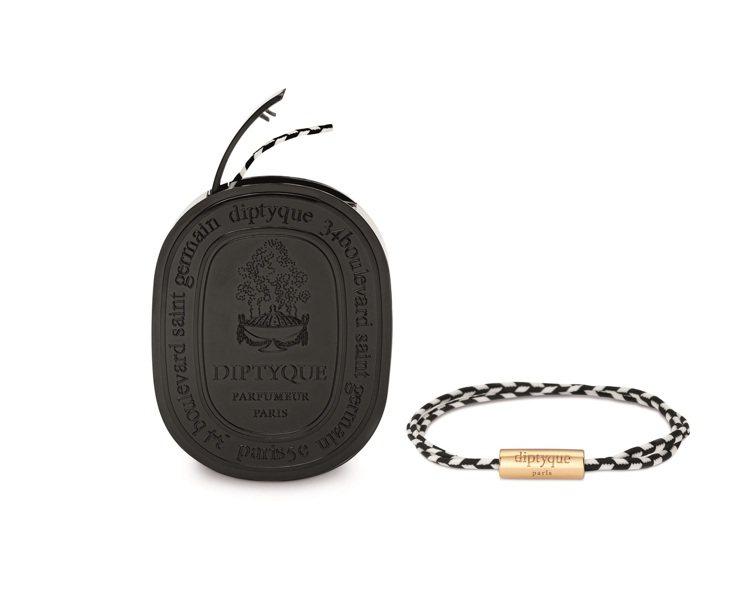diptyque香氛手環,售價2,850元。圖/10/10 APOTHECARY...