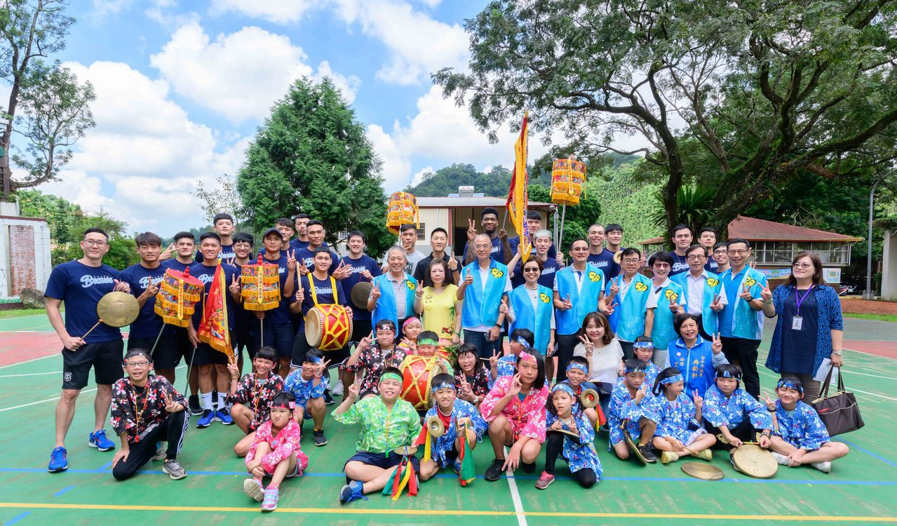 「勇愛無懼」公益籃球活動一連兩天在台中地區舉辦。圖/富邦勇士隊提供