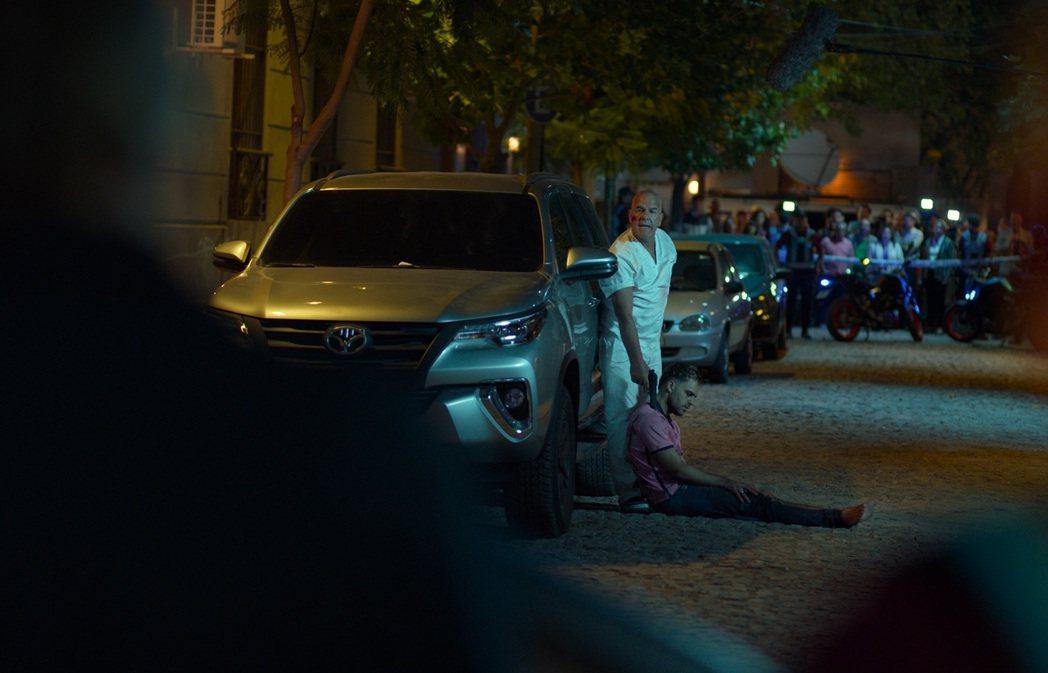 「4x4危機四伏」找來好萊塢王牌音效師,歷時4個月打造全新品種驚悚電影。圖/水元...