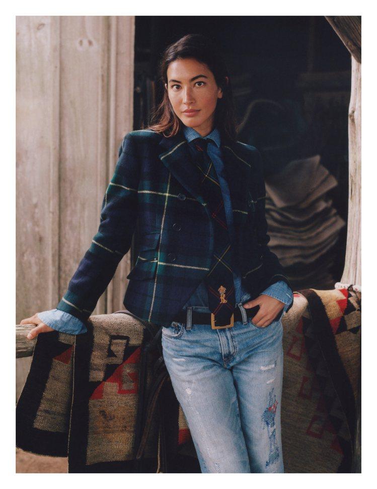 Polo Ralph Lauren發表全新的「wear your story」丹...