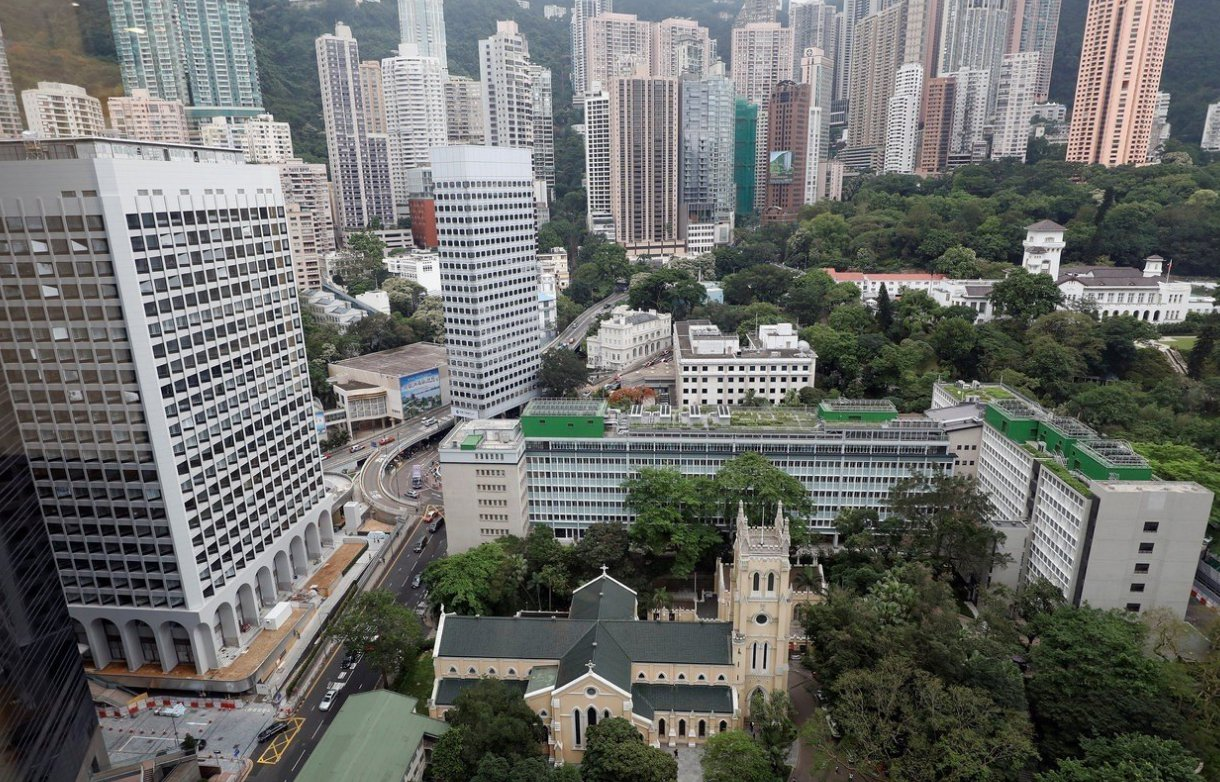 香港房價指數屢創新高。 路透