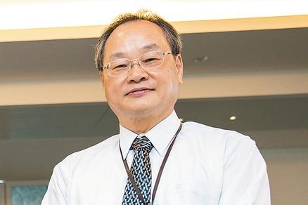 寶成董事長詹陸銘。 報系資料照