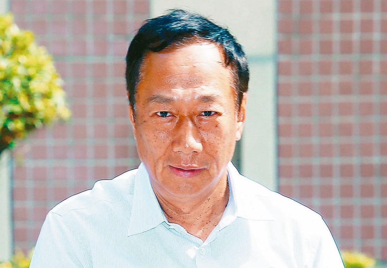 鴻海創辦人郭台銘。 圖╱聯合報系資料照片