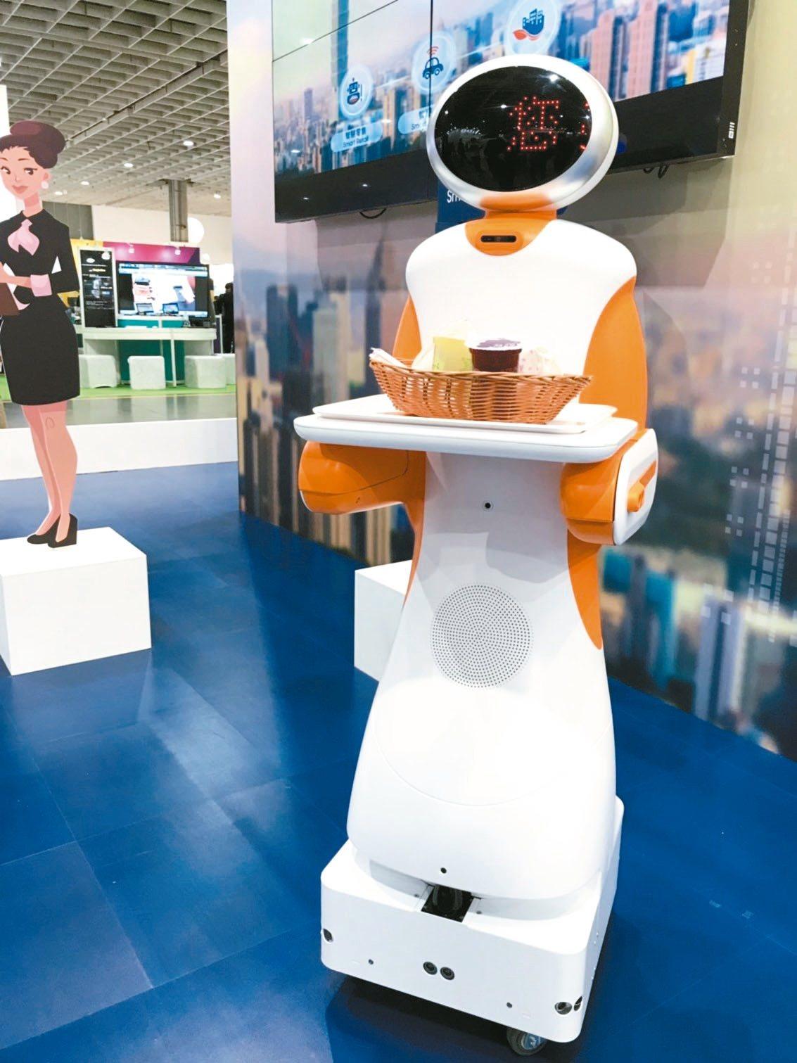 東元參展中國大陸在上海舉行的第21屆中國國際工業博覽會,強調以「東元智造、邁向未...