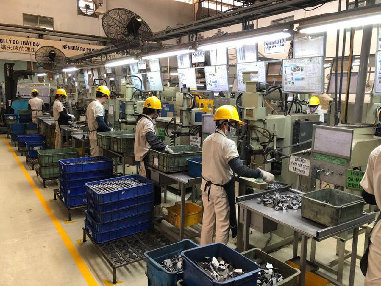越南第一精密的主要客戶都在北越設廠,2001年就在北越落地,爭取先機。中央社