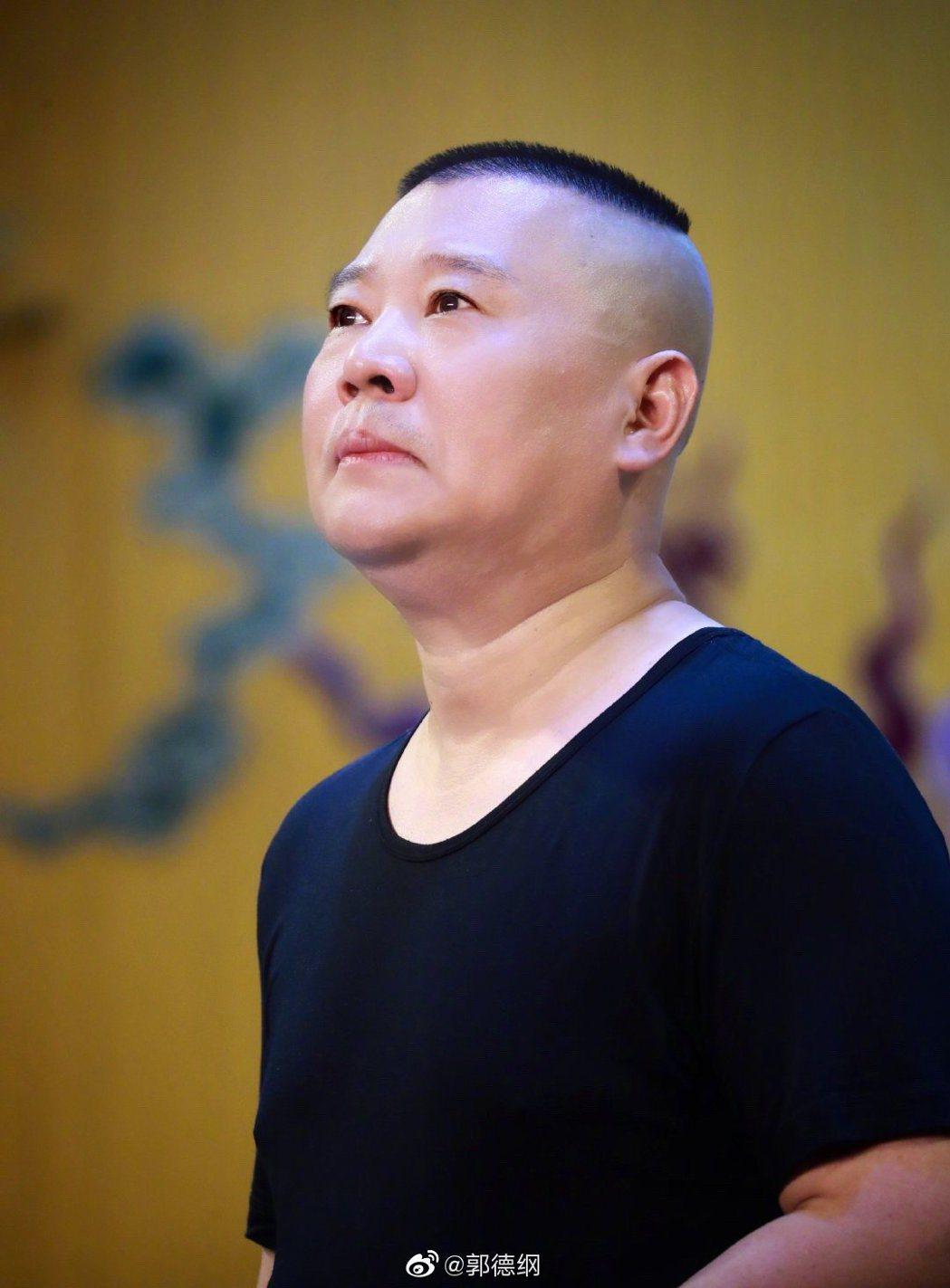 中國大陸著名相聲演員郭德綱。 圖/擷自郭德綱微博