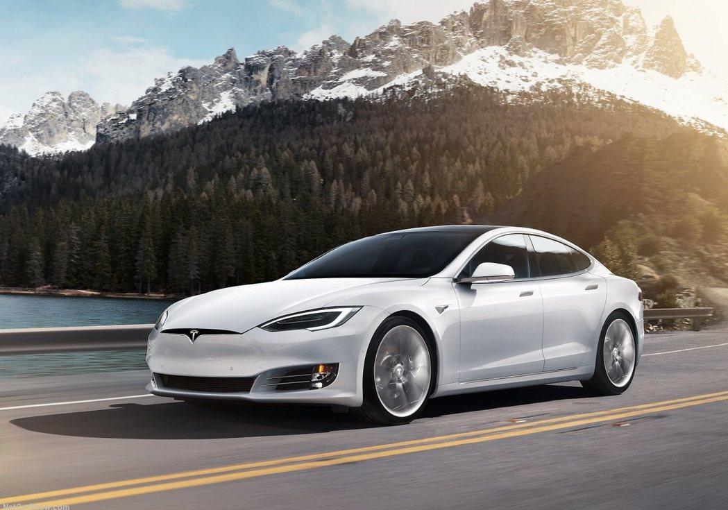 Tesla Model S 摘自Tesla