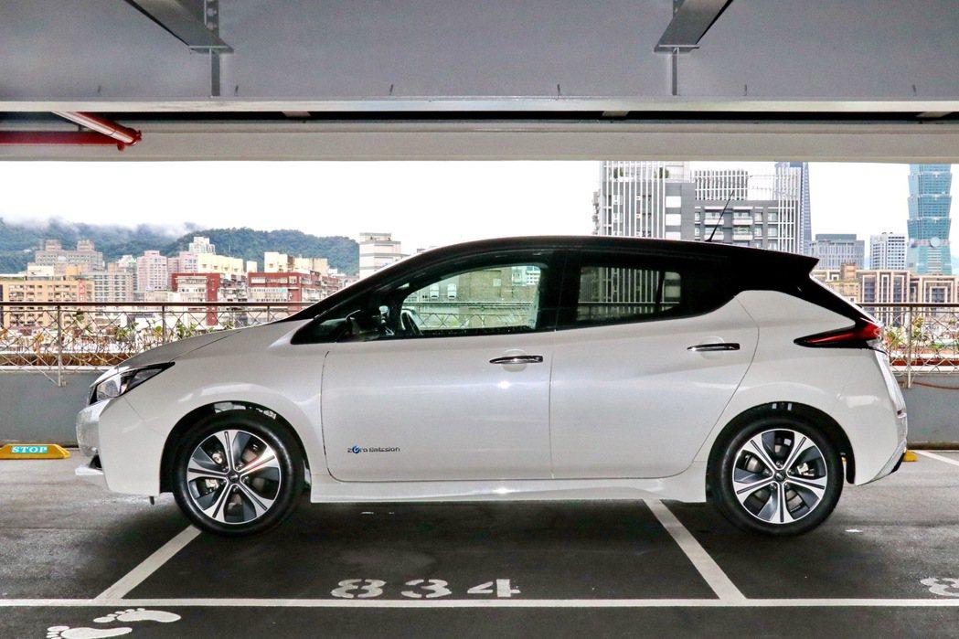 Leaf的車身尺碼維持標準C-Segment房車的大小。 記者陳威任/攝影