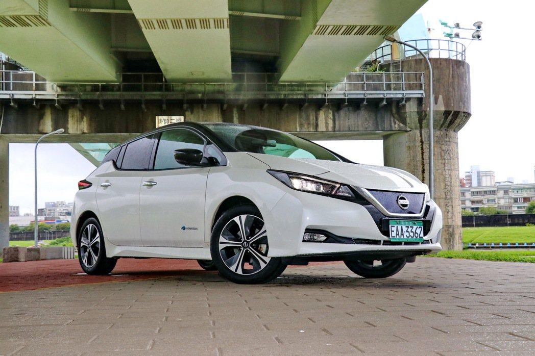 Nissan Leaf將成為台灣市場最親民的電動車款。 記者陳威任/攝影