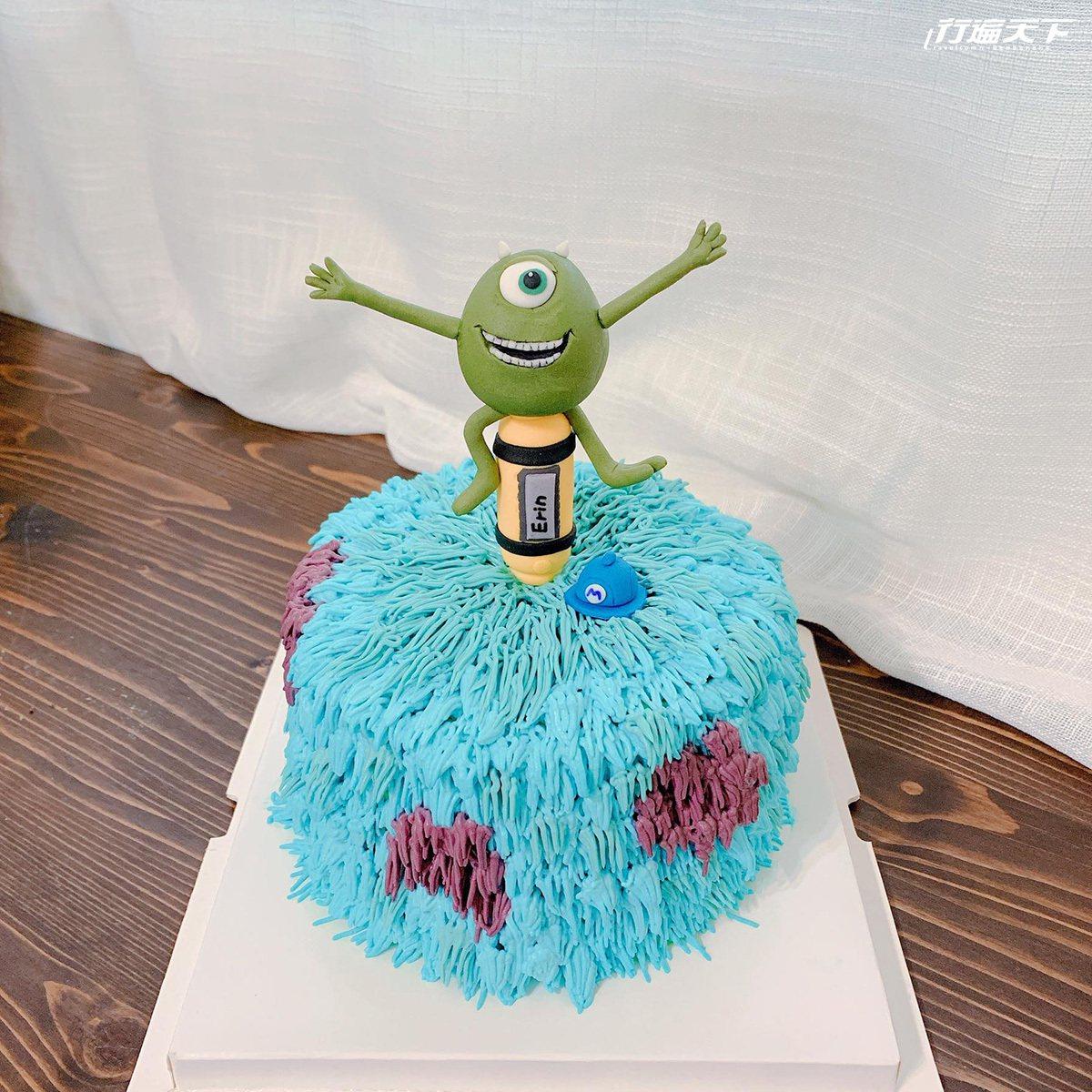 ▲發揮創意藝術將翻糖蛋糕做得栩栩如生,給予驚喜的開心。