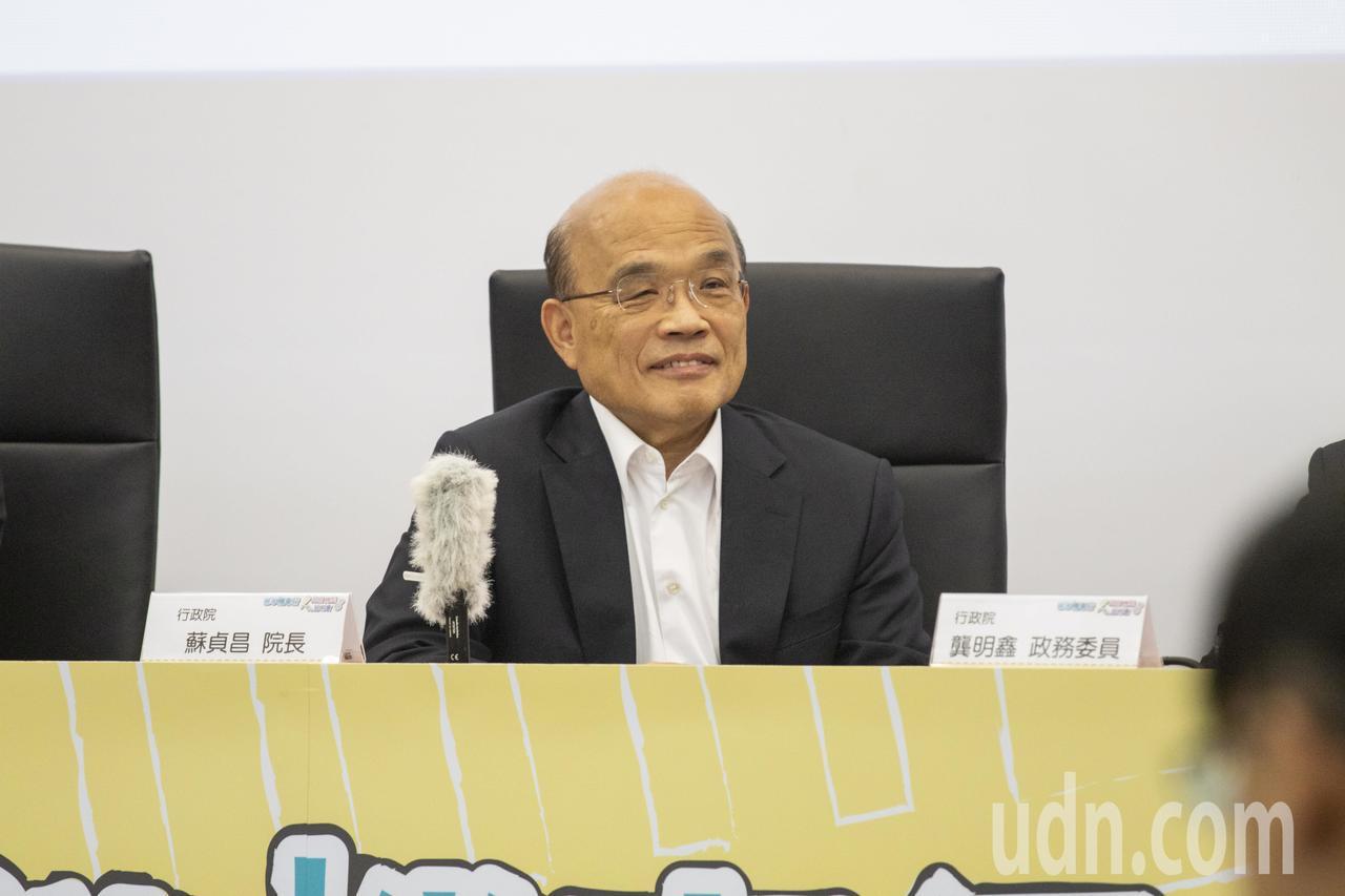 行政院長蘇貞昌說,政治人物、首長更應該要接受長期、嚴格的每一件事情檢驗,才能驗證...