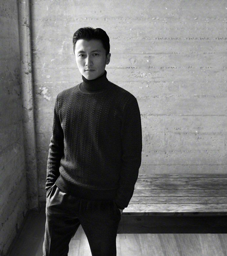 謝霆鋒擠下陳偉霆成為義大利男裝Zegna的最新大中華區代言人。圖/摘自微博