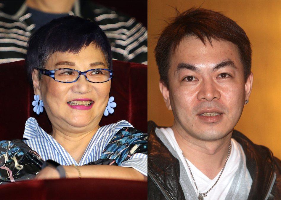 小燕姊(張小燕)、王牌經紀人蔣承縉。圖/報系資料照