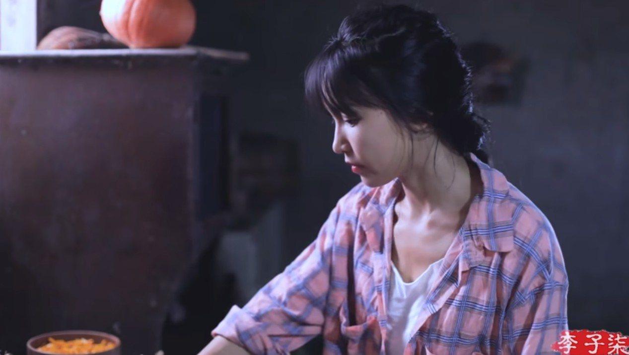 李子柒被稱為中國第一網紅,她在YouTube有近260萬人訂閱。圖/取自李子柒Y...