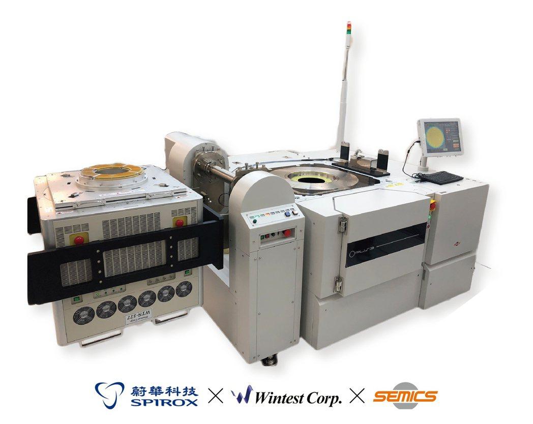 蔚華科技攜手合作夥伴,Wintest WTS-577為LCD Driver IC...