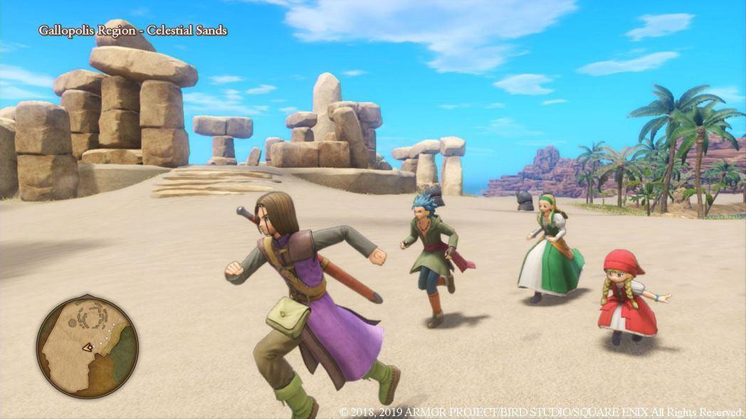 《勇者鬥惡龍XI S》追加更多新元素,包括配音(遊戲截圖)