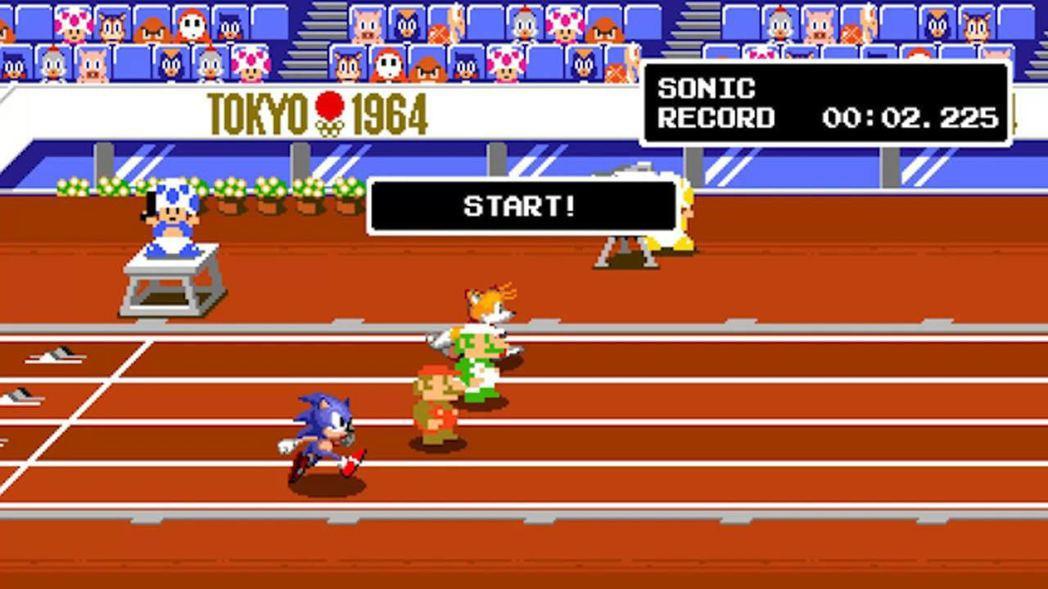 《MARIO & SONIC AT東京2020奧運》引入2D點陣圖模式,作為19...