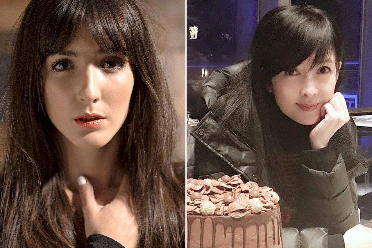 左:Eréndira Ibarra,右:周慧敏。 圖片來源/palomitaca...