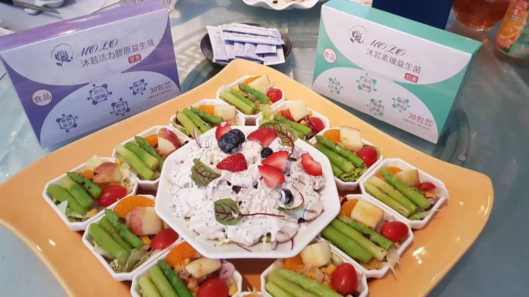 漢來飯店主廚巧思、精湛的廚藝、創新的想法,將沐若健康養生營養包融入美食中,創造出...
