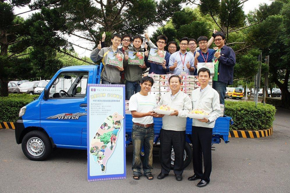 鄰鄉良食與中華汽車合作,一同協助小農。 圖/鄰鄉良食提供