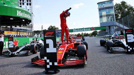 F1/義大利大獎賽 法拉利少主中興!Leclerc拿下睽違9年的主場勝