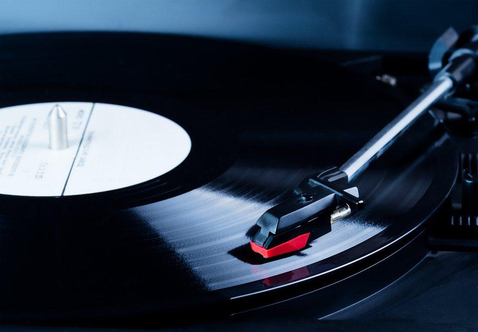 黑膠唱片示意圖。圖/Ingimage