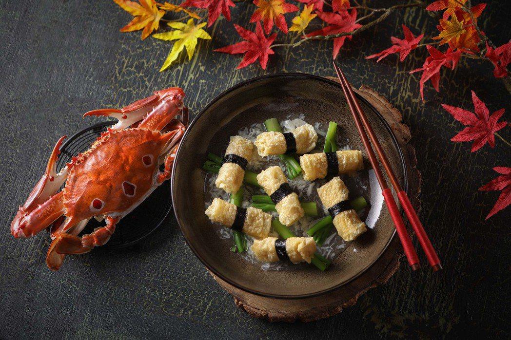 望月樓-蟹肉鮮竹札NT$480。