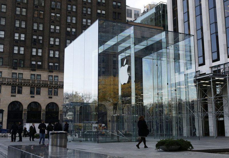 蘋果紐約第五大道旗艦店將在9月20日重新開業。 歐新社資料照