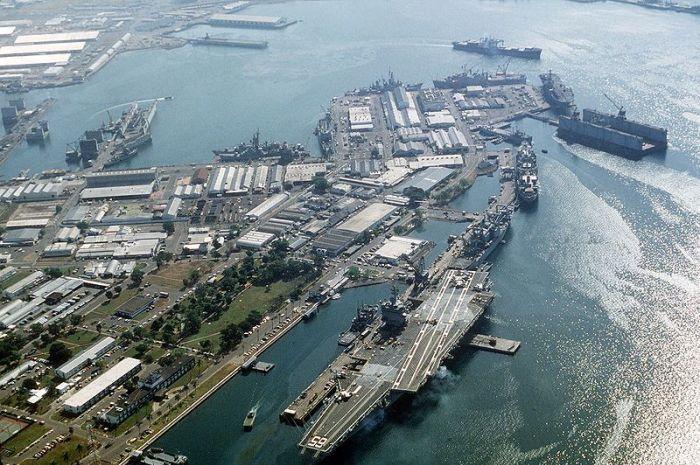 蘇比克灣。 圖/Wikimedia