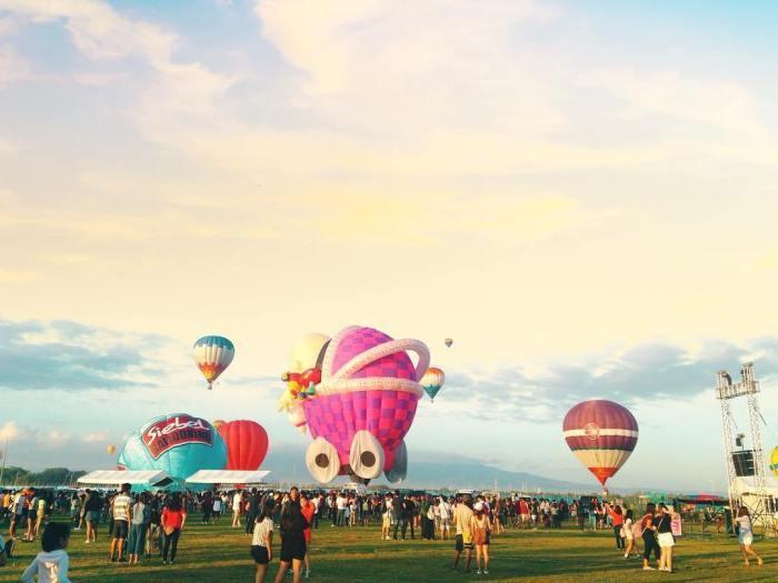 菲律賓國際熱氣球節。 圖/IG, yowadrianow