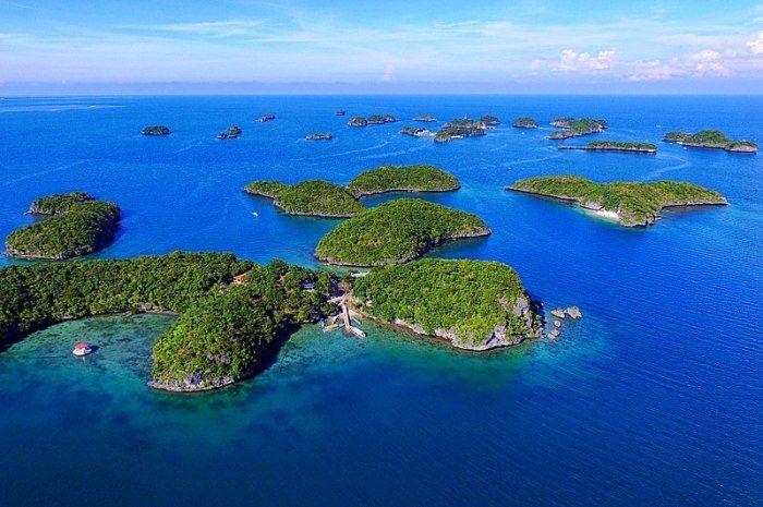 百島國家公園。 圖/Wikimedia